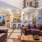 2-story Family Room & Gourmet Kitchen
