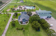 $3.9 Million Estate In El Campo, TX With America's Largest Residential Swimming Pool
