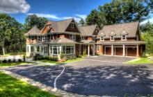 $3.475 Million Newly Built Shingle & Stone Mansion In Weston, MA