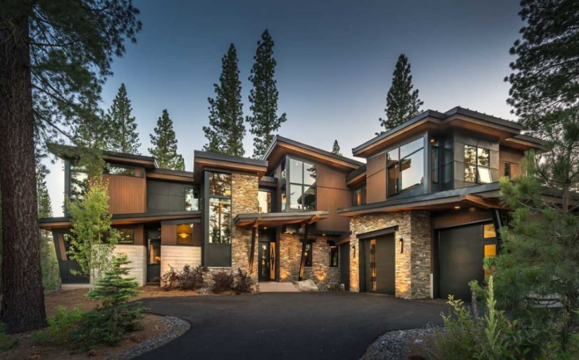 $3.995 Million Contemporary Home In Truckee, CA