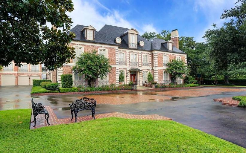 $10.75 Million Brick Mansion In Houston, TX
