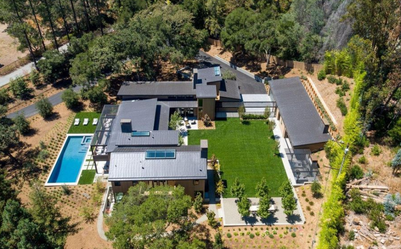 $21.98 Million Newly Built Contemporary Mansion In Atherton, CA