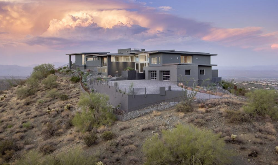 $9 Million Newly Built Contemporary Mansion In Fountain Hills, AZ