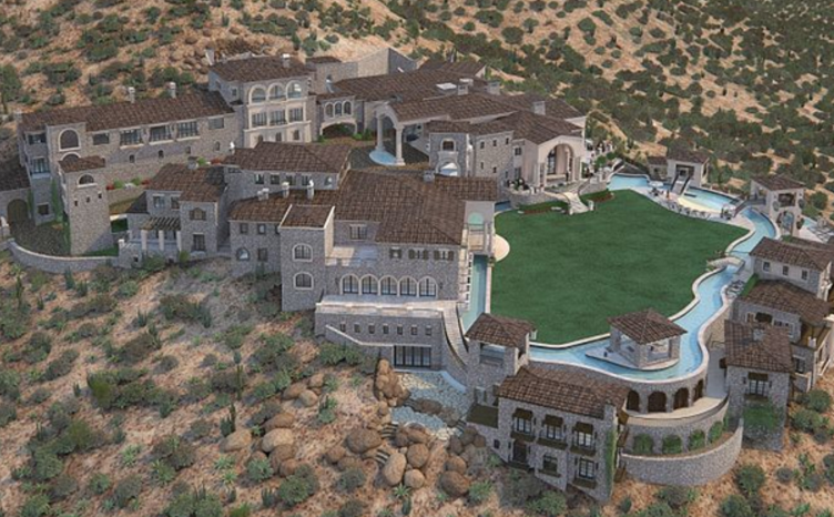 the top 5 largest homes currently under construction in