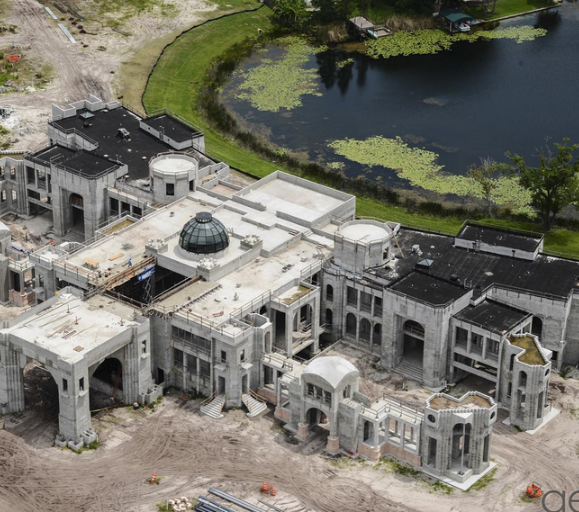 The Top 5 Largest Homes Currently Under Construction In America