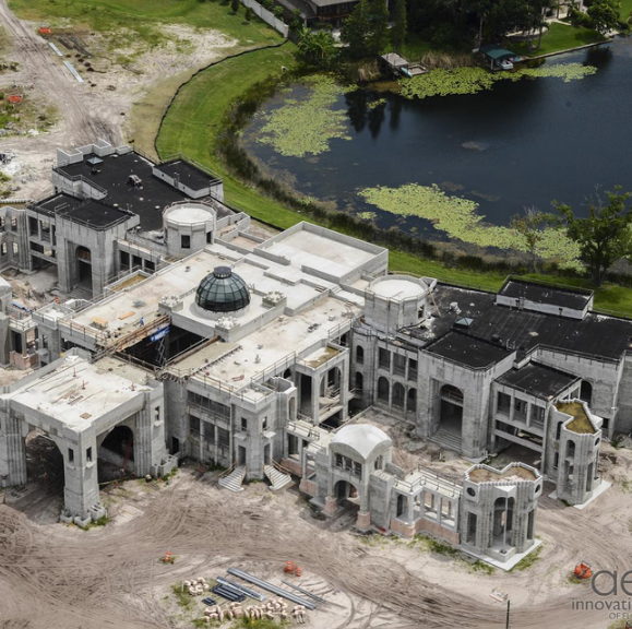 The top 5 largest homes currently under construction in for 500 000 dollar homes in texas