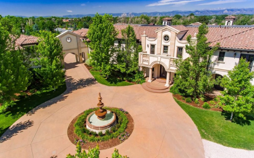 16,000 Square Foot Italian Inspired Mansion In Englewood, CO