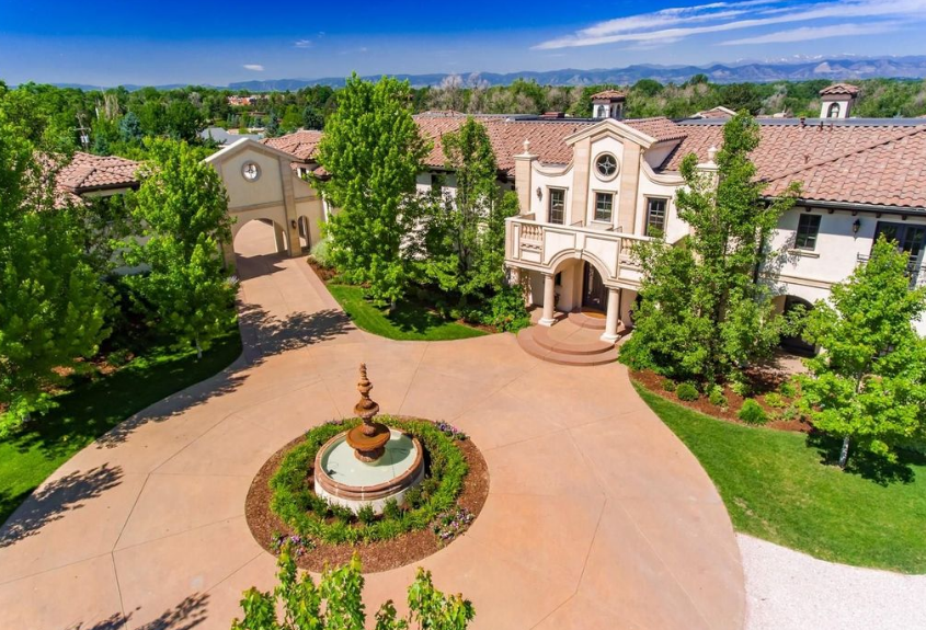 16 000 Square Foot Italian Inspired Mansion In Englewood