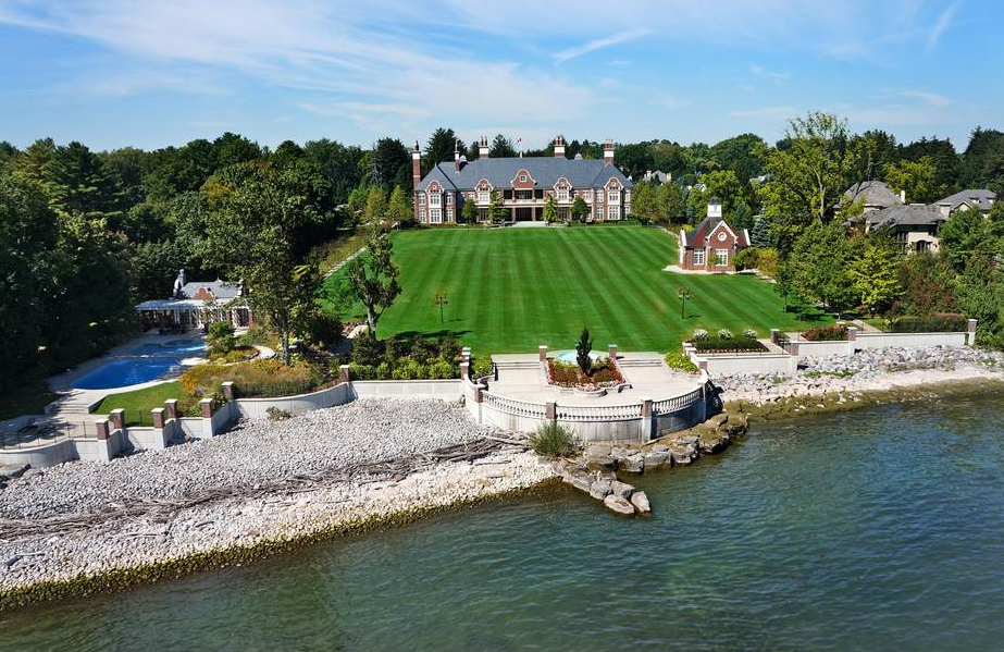 Chelster Hall A 65 Million Lakefront Mega Mansion In