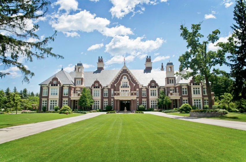 Chelster Hall - A $65 Million Lakefront Mega Mansion In Ontario, Canada