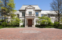 $12 Million French Inspired Lakefront Mansion In Glencoe, IL