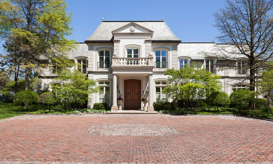 $12 Million French Inspired Lakefront Mansion In Glencoe, IL
