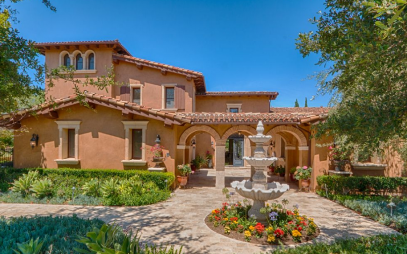 $5.9 Million Tuscan Inspired Home In Irvine, CA