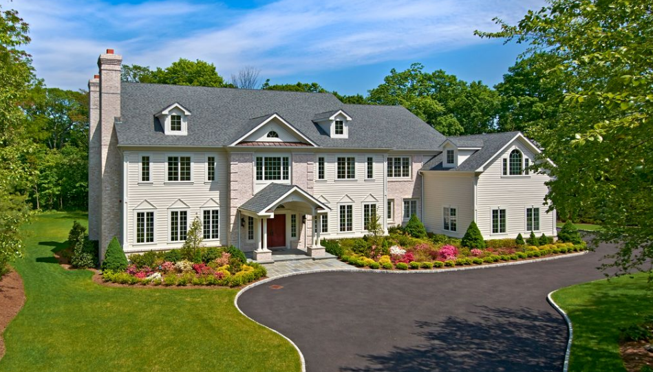 $2.695 Million Newly Built Colonial Home In Purchase, NY
