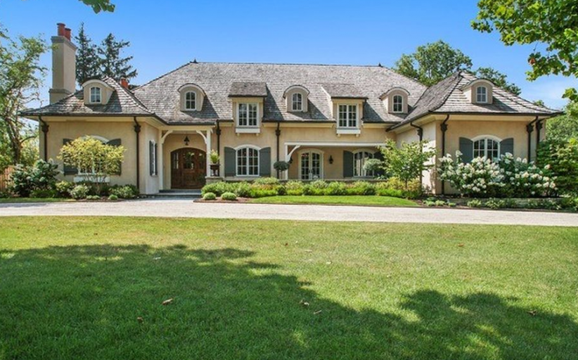 $3.15 Million French Country Home In Glenview, IL