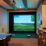 Game/Golf Simulator Room