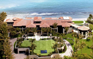 $48.9 Million Balinese Inspired Oceanfront Mega Mansion In Manalapan, FL