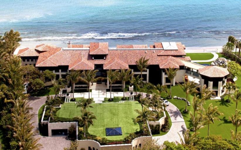 $48.9 Million Balinese Inspired Oceanfront Mega Mansion In Manalapan, FL