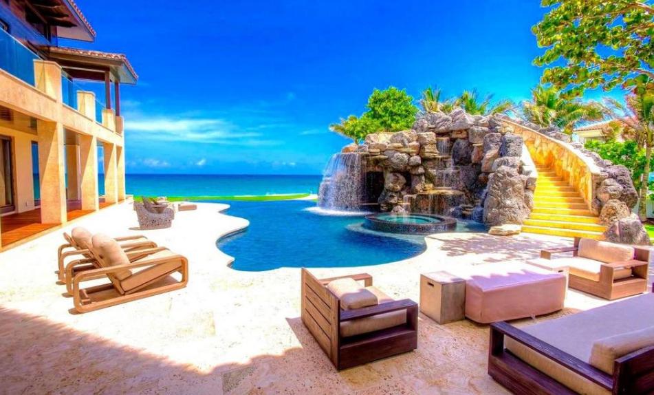 48 9 Million Balinese Inspired Oceanfront Mega Mansion In