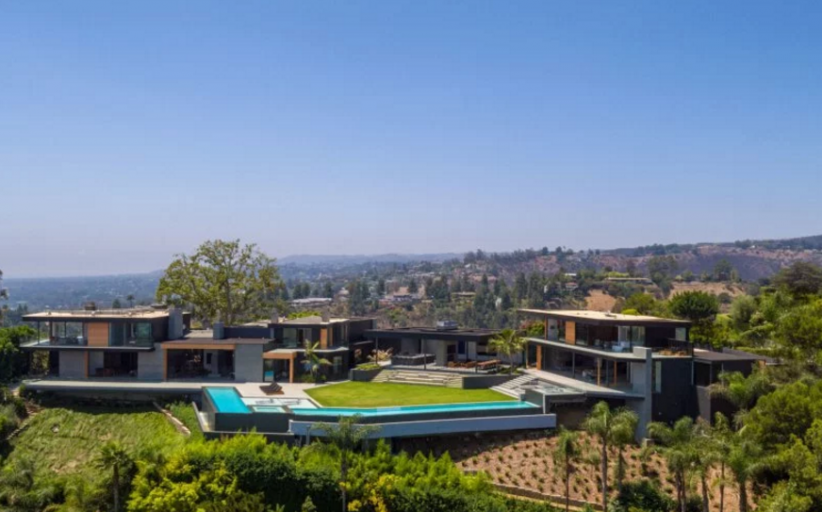 $48 Million Newly Built Contemporary Mansion In Beverly Hills, CA