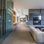 Main House Family Room & Wine Cellar