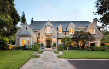 $18.9 Million European Inspired Mansion In Atherton, CA