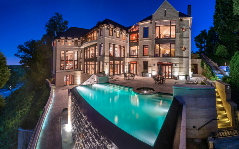 $75 Million 42,000 Square Foot Mega Mansion In McLean, VA