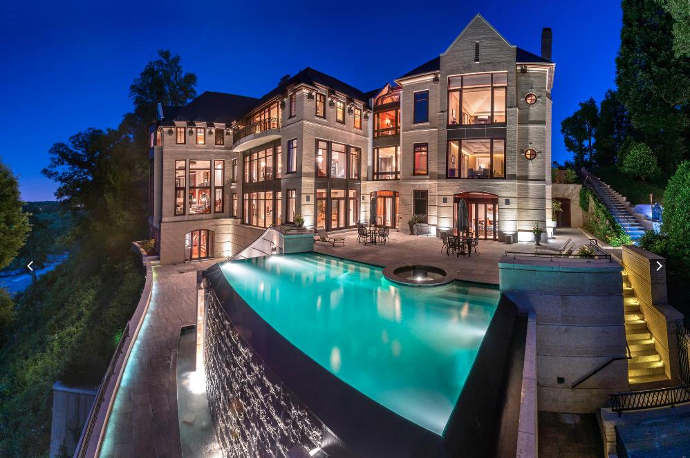 75 Million 42 000 Square Foot Mega Mansion In Mclean Va