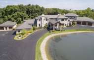 10,000 Square Foot Limestone Mansion On 20 Acres In Kenosha, WI
