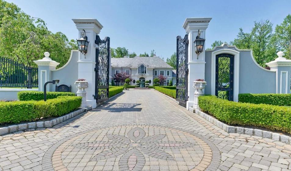 $15 Million French Inspired Mansion In Alpine, NJ