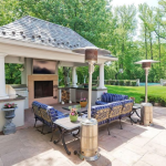 Outdoor Covered Kitchen/BBQ