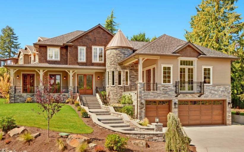 $3.4 Million Newly Built Home In Bellevue, WA
