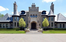 $7 Million Brick Mansion In Bloomfield Hills, MI