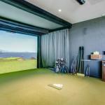 Golf Simulator Room