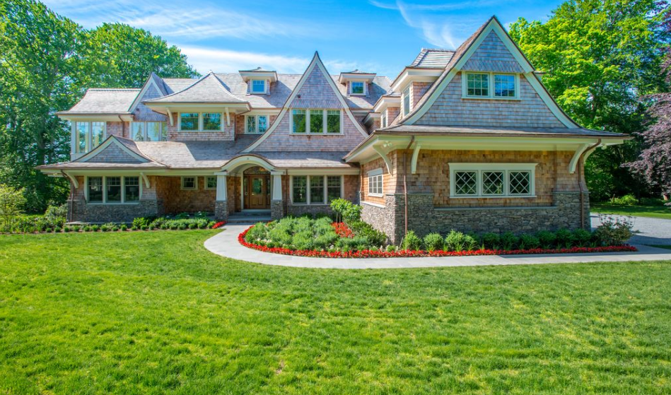 12,000 Square Foot Newly Built Stone & Shingle Mansion In Newport, RI