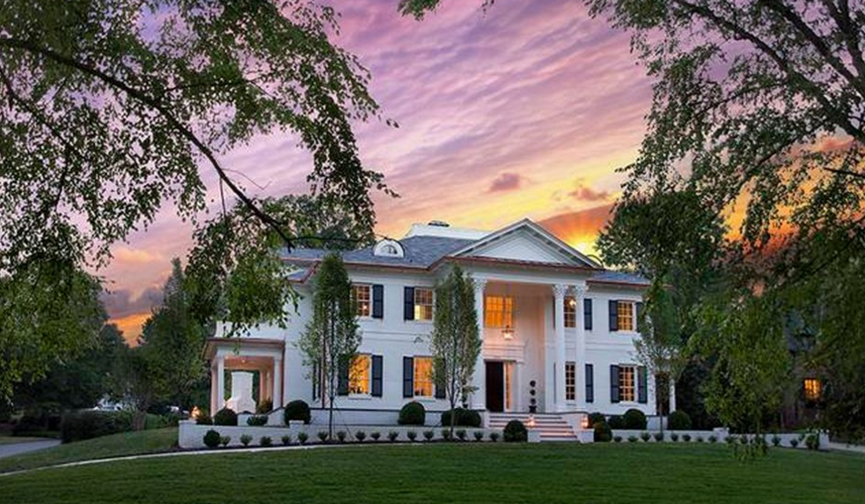 $2.75 Million Newly Built Brick Home In Charlotte, NC