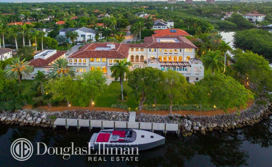 27 million newly built waterfront mega mansion in coral for Mega mansions in florida