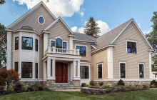 $3.3 Million Newly Built Colonial Home In Winchester, MA
