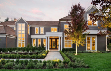$20 Million Newly Built Mansion In Atherton, CA