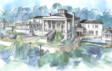 The Rice House – A 36,000 Square Foot Unfinished Mega Mansion In Atlanta, GA