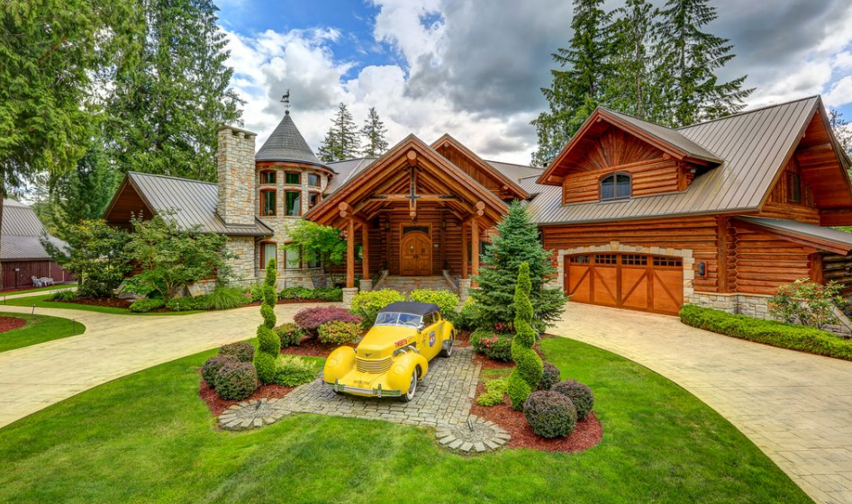10,000 Square Foot Lodge In Ravensdale, WA