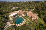 10,000 Square Foot Spanish Style Mansion In Rancho Santa Fe, CA