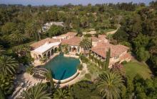 10,000 Square Foot Spanish Style Mansion In Rancho Santa Fe, CA