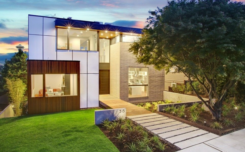 $3.845 Million Newly Built Contemporary Home In Seattle, WA