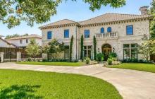 $2.65 Mediterranean Brick & Stone Home In Dallas, TX