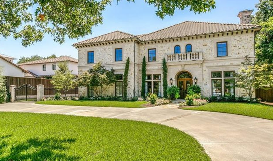 $2.65 Mediterranean Brick & Stone Home In Dallas, TX