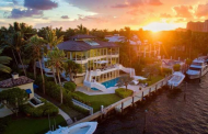 $21.9 Million Contemporary Waterfront Mansion In Coral Gables, FL