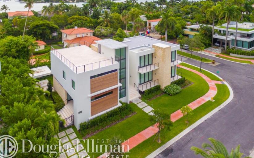 $5.49 Million Newly Built Contemporary Home In Miami Beach, FL
