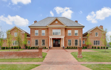10,000 Square Foot Newly Built Brick Mansion In New Albany, OH