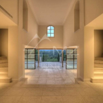 Main House Foyer w/ Double Staircases